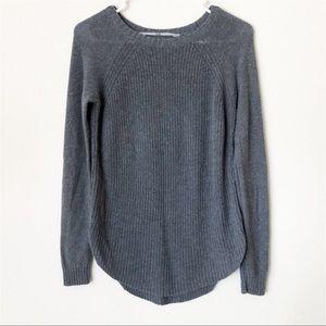 Athleta Wassal Kennewick Crew Sweater Gray XS